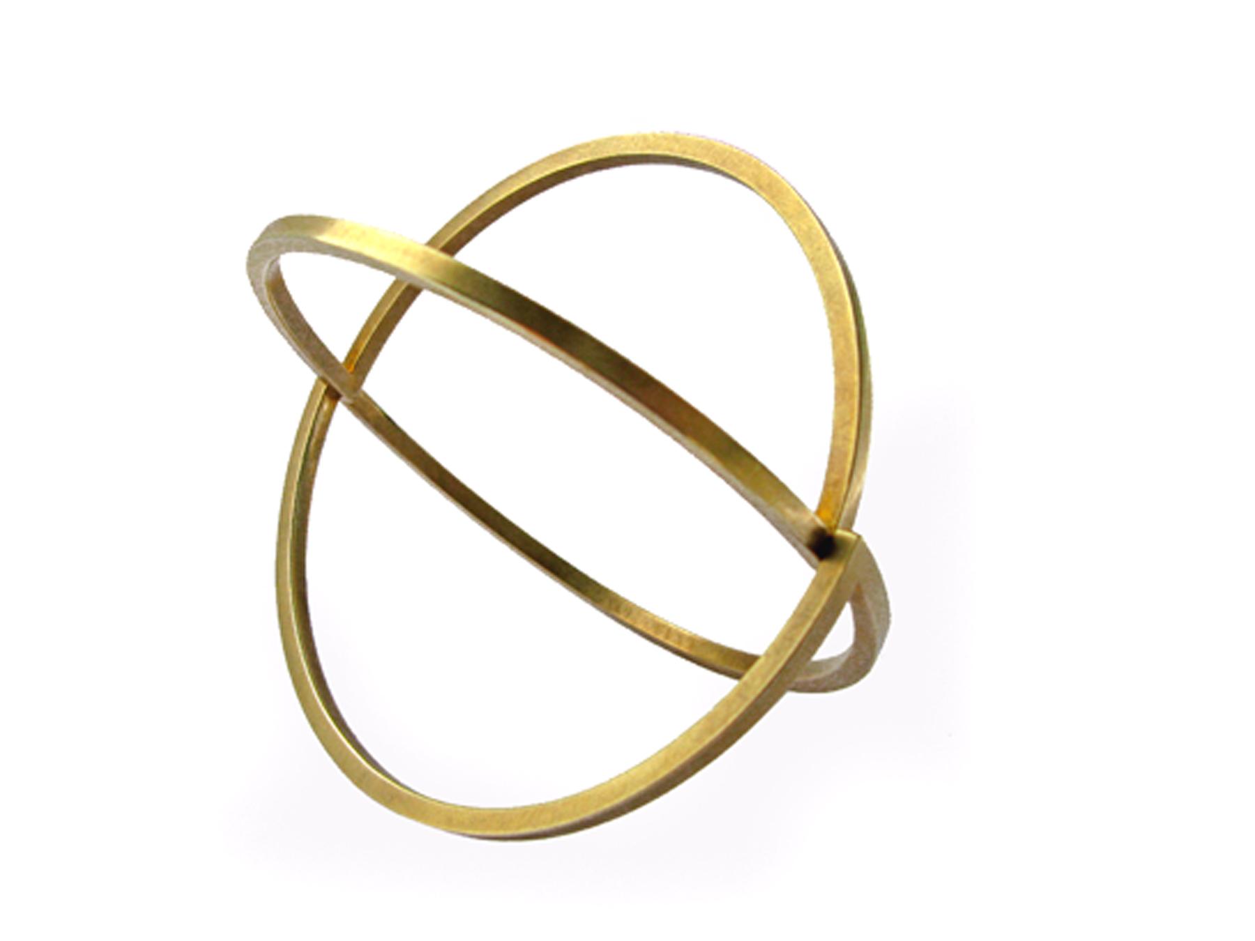 Zweiteilige Armspange aus Gold