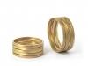 Wilde-Ehe-Ringe aus Gelbgold
