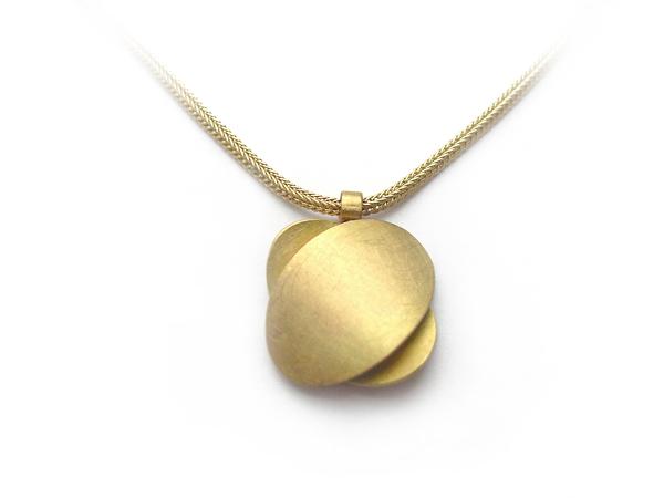 Goldkette mit Ovalen