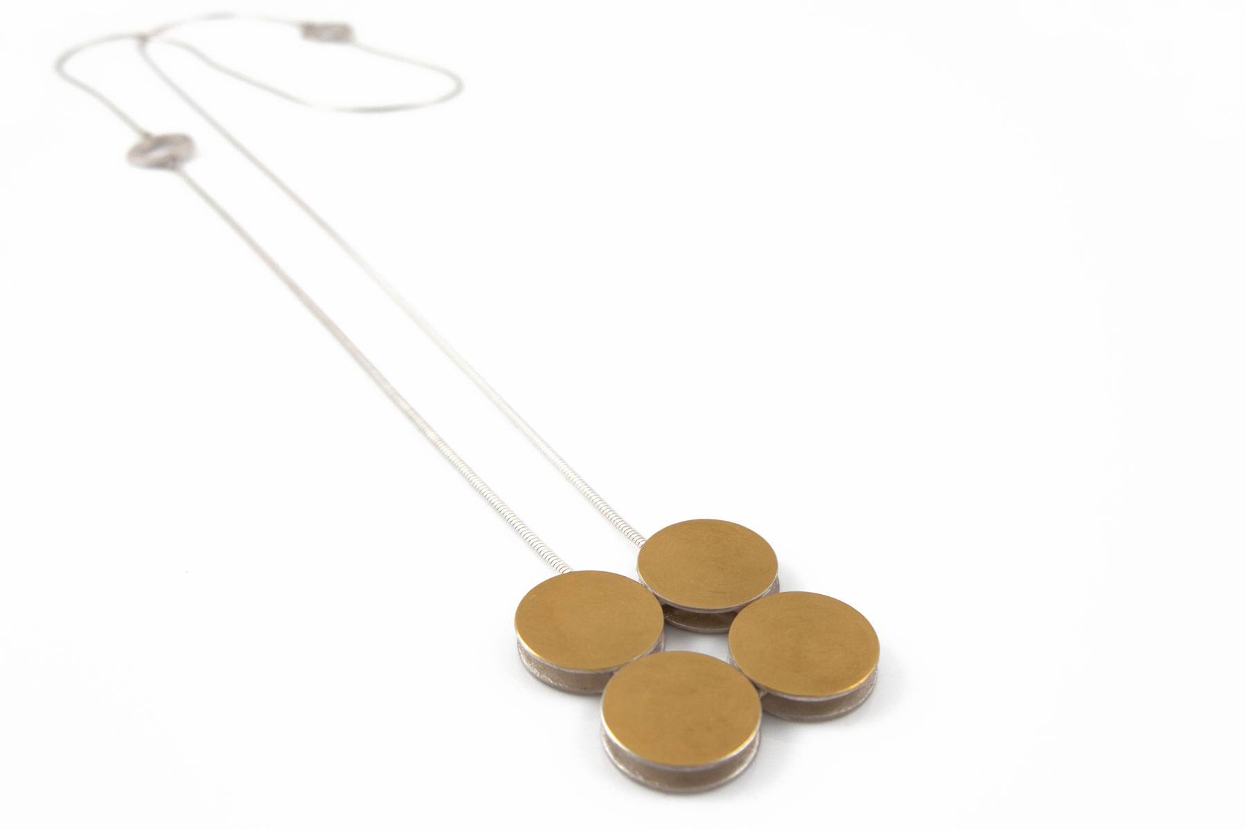 Goldkette Zweihochvier