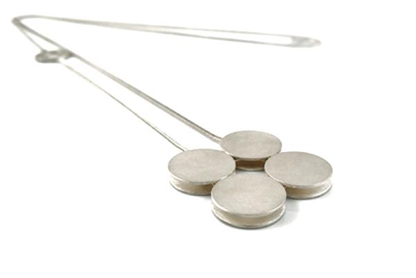 Silberkette Zweihochvier
