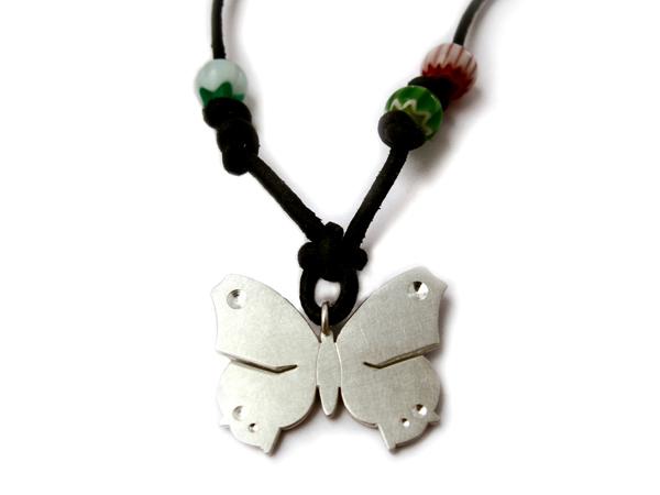 Schmetterling Anhänger aus Silber - Lillie