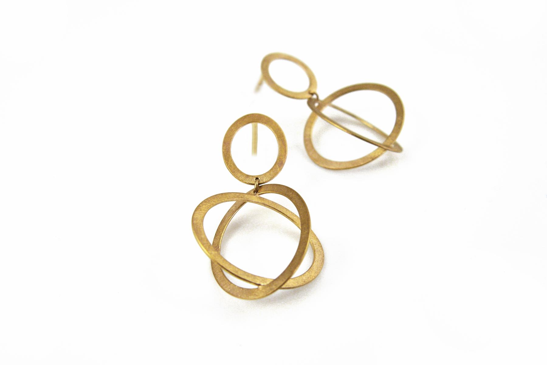 Ohrhänger O(h)rbit aus Gold