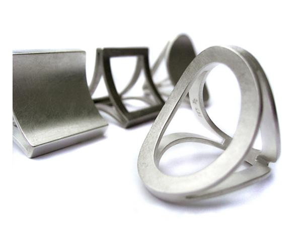 Dreierringe aus Silber
