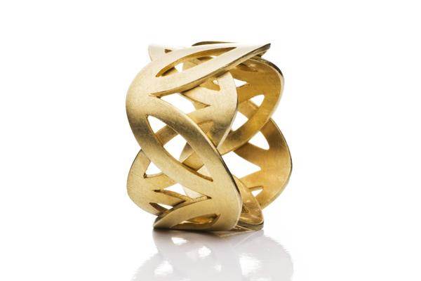 Kronenring aus Gold oder Silber