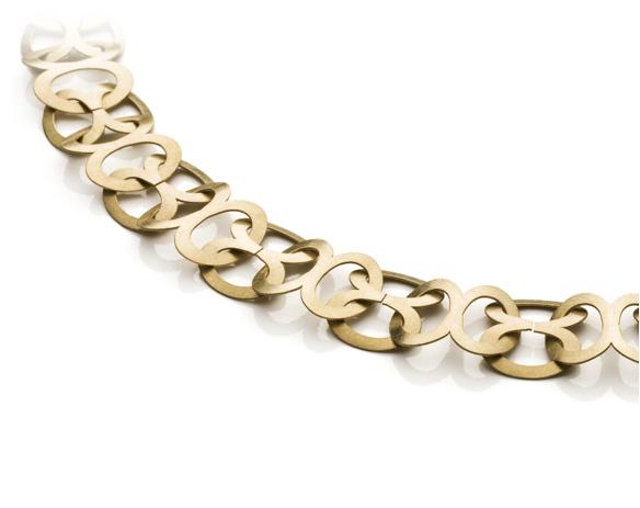 Moderne Goldketten individuelle Schmuckketten aus Gold Silber Platin